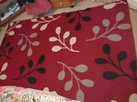 A nice pretty one year old rug
