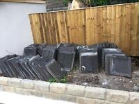 Roof tiles 150+ tiles job lot