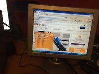 "Used Wds Dell XP Optiplex Pc Bundle:- Slimline Base 15"" LED • Keyboard Mouse Ideal Surfing The Web!"