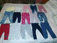 58 items girls 12-18 bundle dresses pyjamas jeans leggings tops cardigans