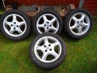 Setv of Vauxhall Tyre/Alloys