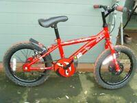Small boys single speed first bike
