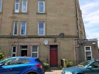 Furnished, one double bedroom and one single bedroom/study flat situated in Wardlaw Terrace