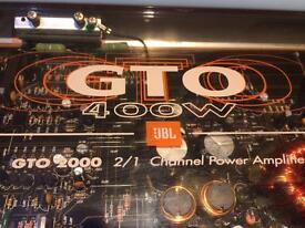 Jbl amp 400 watt