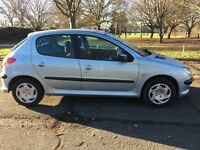 PEUGEOT 206 1.4 .. VERY LOW MILEAGE 40,000..1 OWNER ..DRIVES SUPERB !!!