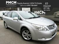 TOYOTA AVENSIS 2010 2.0 D-4D T4 Estate - HIGH SPEC - F.S.H - HEATED LEATHER - mondeo octavia passat
