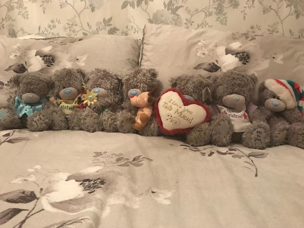 Medium and small Tatty Teddy collection