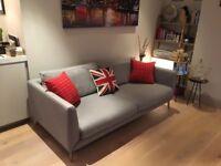 Grey Bo Concept 3 seater sofa