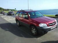 Mazda Tribune 4WD 2003 model, No MOT, taxed till end of May 2018, Just drove all way to South France