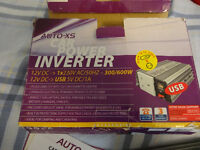Car Power inverter 12V -> 240V 300W (600W Max)