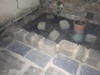 Victorian cobble stones