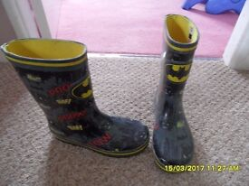 Batman boots size 13