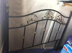 FREE TO COLLECT Double divan base and headboard