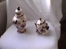 Masons Ironstone Jars