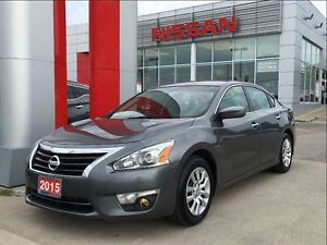 2015 Nissan Altima 2.5 S, power driver seat, backup camera, Blue