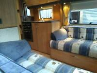 ACE 5 berth touring caravan single axle
