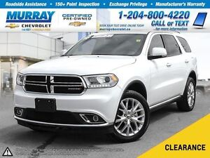 2016 Dodge Durango Limited *Leather Heated Seats, Climate Contro