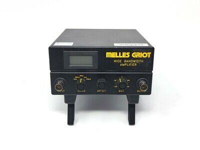 Usa Melles Griot Wide Bandwidth Amplifier