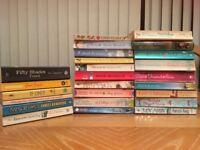 Mix of Romance / love story / novel / books