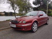 Jaguar X Type SE Diesel 05 plate - 74,320 miles MOT Mar 18 - 2 owners , 45 MPG £150 PA to tax