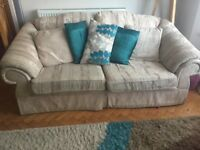 1 x 2 seater sofa and 1 x 3 seater sofa