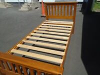 SINGLE WOODEN BED FRAME at Haven Trust's charity shop at 247 Radford Road, NG7 5GU