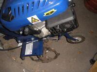 Hyundai HYT140 139 cc 4-Stroke Petrol Garden Tiller and Cultivator, 2.5 kW