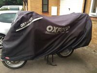 Oxford Stormex large bike cover and solar charger