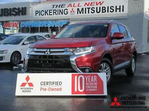 2016 Mitsubishi Outlander AWD, BLUETOOTH, ROOF RAILS