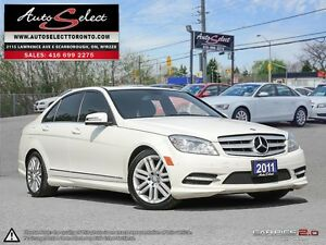 2011 Mercedes-Benz C-Class 4Matic C250 AWD ONLY 128K! **NOT A...