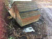 Hen chicken duck house or coop ark