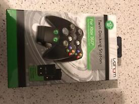 Venom Xbox 360 double charming dock NEW