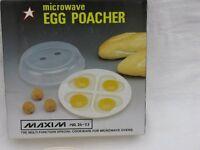 Egg Poacher Maxim Microwave