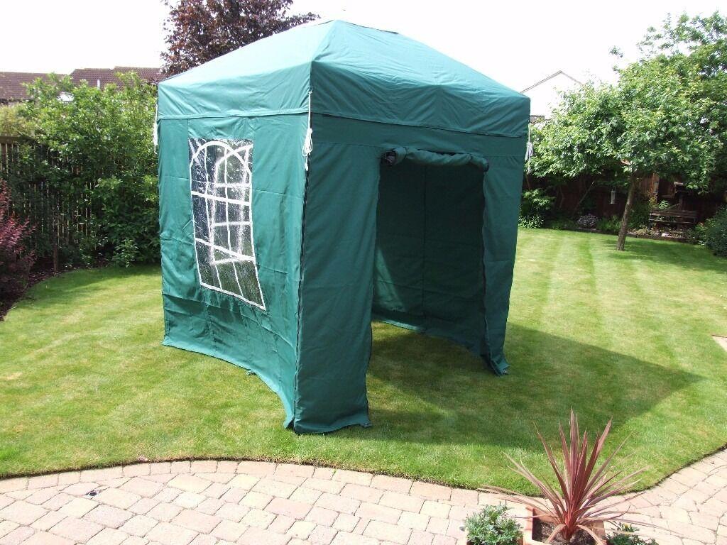 Pop up aluminium Gazebo 2 metre square suit beach hut and car boot ...