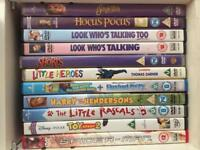 Kids DVDs over 70 Available