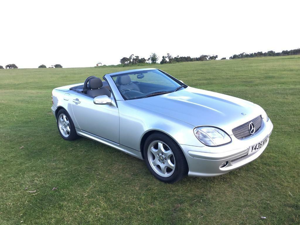 mercedes slk 230 kompressor convertible petrol 95k miles in tavistock devon gumtree. Black Bedroom Furniture Sets. Home Design Ideas