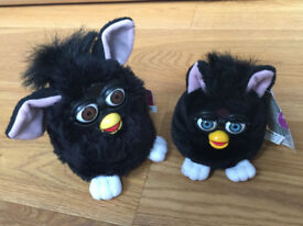 FURBY electronic, a set with baby Furby - Vintage with New condition