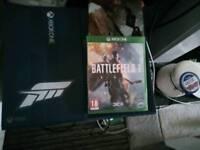 Xbox one Ltd edition 1tb forza edition