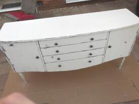 REDUCED FOR QUICK SALE! Shabby Chic Sideboard For Sale £135