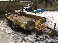 CHIEFTAIN PLANT TRAILER (not ifor williams Kane Hudson Brian James Indespension )