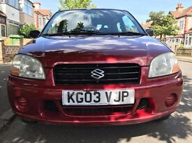 Suzuki Ignis 1.3 Petrol Red MOT 05/08/2017 in Average age related condition and all working order