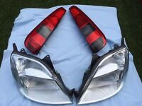 Front and rear lights for Ford Fiesta 2003 for Europe