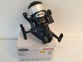 MITCHELL 666 FG SPINNING REEL