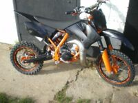 2010 ktm 85 small wheel extremly clean well looked after bike just had top end rebuild