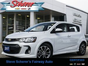 2017 Chevrolet Sonic LT MYLINK APPLE CAR PLAY