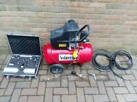 Air Compressor Hire 50L and accessories
