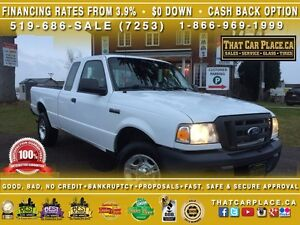 2011 Ford Ranger XL-$42/Wk-Tow Hitch-Box Liner-AUX/CD/MP3