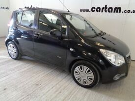 2010 Agila 1.2 Club 16v Full Service History Black Air Con 5 door MOT Jan 2019 HPi Clear £1995