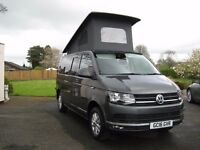 2016 VOLKSWAGEN T6 (102BHP) Highline Camper with air conditioning, Brand new campervan conversion