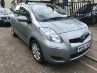 2009 TOYOTA YARIS 1.3 vvti T3. AUTOMATIC. AUTO. £30 TAX. 2 OWNERS. 50k MILES. ALLOYS. AC.